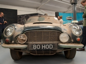 DB6 Vantage Barn find