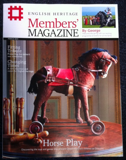 English Heritage Members' Magazine March 2014