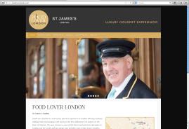 Food Lover London website