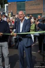 Lewis Biggs opening the 2014 Folkestone Triennial