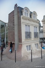 Maison Fond, Leandro Erlich, Gare du Nord
