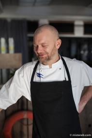 Tim Steinov, head chef @ Toldboden