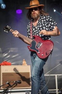Mike Ross of Walrus: winner of the 2017 Most Photogenic Rock Frontman award