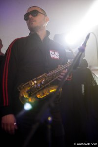 JP Sax with FNUK at Secret Disco