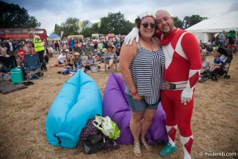 The soon-to-be Mr & Mrs Power Ranger: Aaron Wickens and Eloise Macey